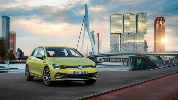 The new Golf: The latest model arrives in March and is its biggest leap forward in 45 years, according to Volkswagen