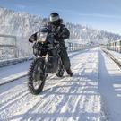 Adventure: Gary O'Keeffe and Declan McEvoy will head up a group of international adventure motorcyclists driving across Lake Baikal in Siberia
