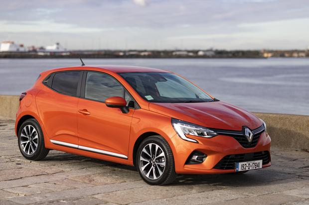Assured sales: The new Clio. Renault says there has been a Clio sold every minute since it started making the car in 1990
