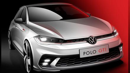 Sketch of new VW Polo