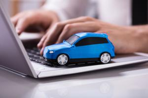 There is a strong online interest in buying cars