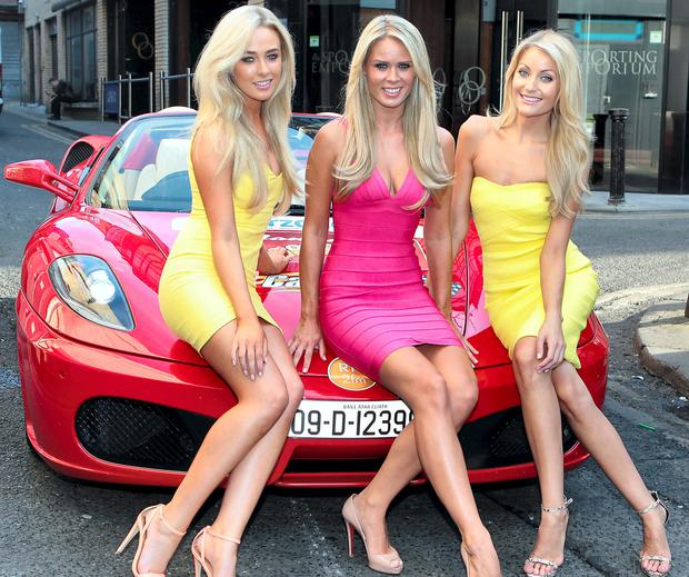 Nicola Hughes, Karena Graham and Kerrie Nicole Blanc at the launch of Cannonball 2014