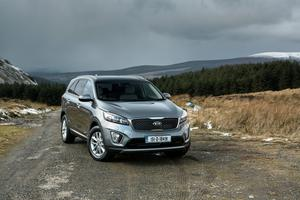 The new Sorento: Just arrived and Kia hope 300 people will buy them this year