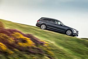 Mercedes C-Class Estate: lots of room for passengers and luggage