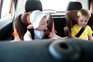 Children wearing seatbelts saves lives