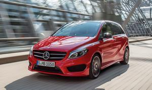 Intrusive: The tyre/road noise while testing the revised B-Class spoilt the drive