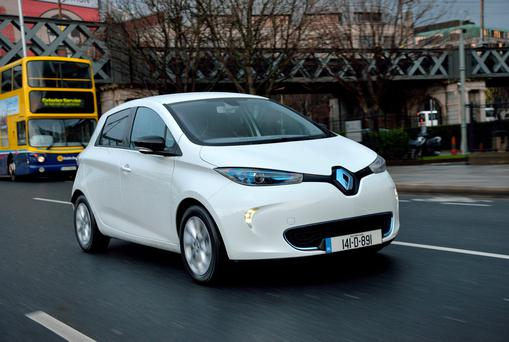 BLINDSPOTS AND GLARE: The Renault Zoe is let down by some serious issues