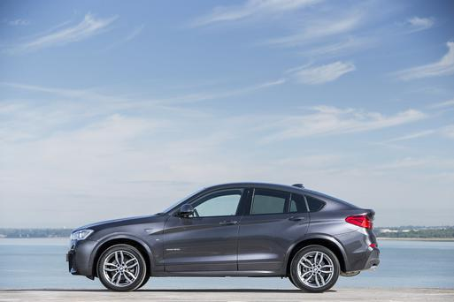 THE X4: The latest offering from BMW is very sporty, elegant and functional