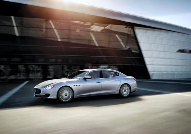 Little bit different: Maserati Quattroporte V6