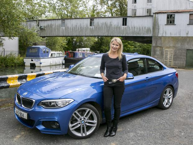 Geraldine Herbert and the BMW 2 Series Coupe