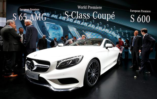 Mercedes S Class Couope: we can all make a wish this Christmas