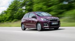 QUITE A GOER: The new Peugeot 108 with a 1.2-litre petrol engine on board will really fly