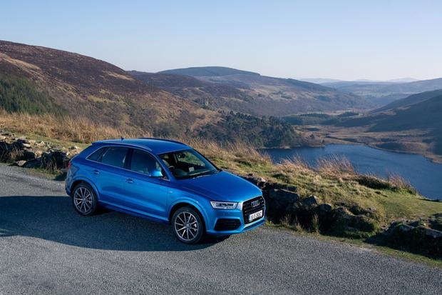 Audi Q3: 'compact crossover/SUV'