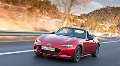 CLASSIC: A pure roadster drive experience and open-top driving at its very best