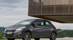 SENSUAL: The Peugeot 208 with a scratch-resistant coating comes with three and five doors
