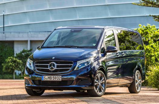 The Mercedes V1Class: big and roomy
