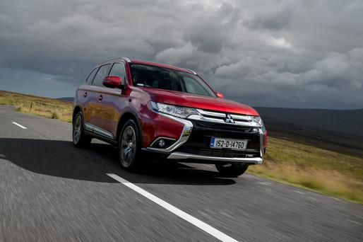 Good overall mix: Mitsubishi Outlander