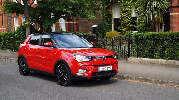 Creditable start: SSangYong's Tivoli.