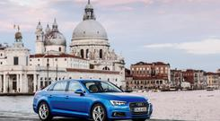 VERY CLASSY: But be careful of the cost of extras with the Audi A4