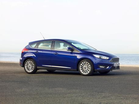 The 2015 Ford Focus - Ford is the top selling car brand in Ireland