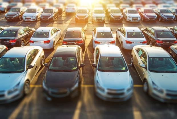 Forecourt: More than one-in-four new cars are being financed with personal-contract plans.