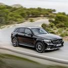 Merc GLC - luxury but average handling.