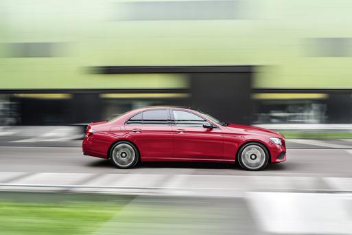 Seriously impressive: The new E-Class is just one of six new models and six facelift models that are due from Mercedes in 2016E-