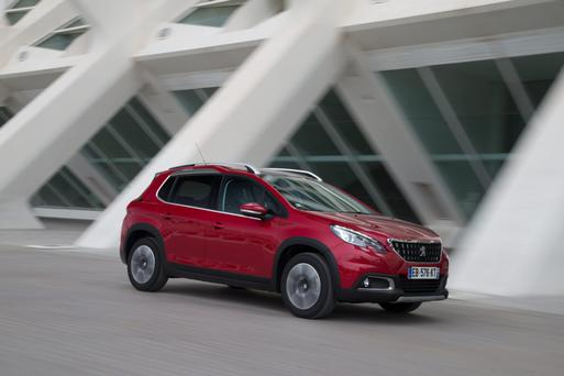 STYLISH BUT NOT FLASHY: The newly upgraded 2008 crossover model — which will be available here for 162 July sales — is impressive in terms of both comfort and running coststurers'