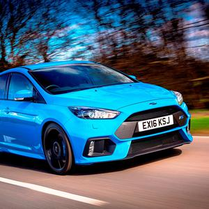 Making a statement: Ford Focus RS.