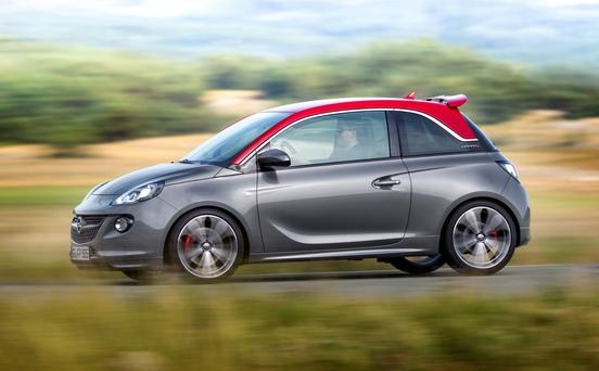 Looks the part: Opel Adam.