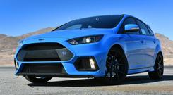 Confident sureness: The Ford Focus RS, with four drive modes, makes you feel you would stand a chance if you were hurtling down for the Monte Carlo Rally