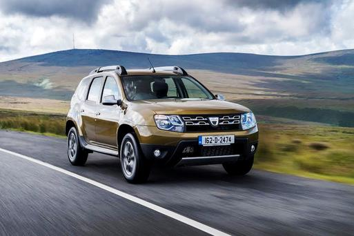 Great value: The Dacia Duster
