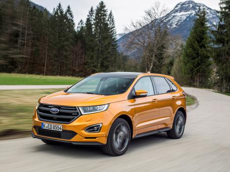 The Ford Edge SUV