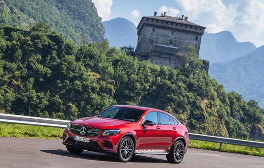 Crossover: Mercedes GLC Coupe