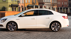 Grand coupe: The latest model in the Megane family