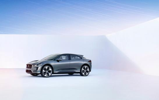 Shape of things to come: Jaguar's concept of their new electric SUV, the I-PACE