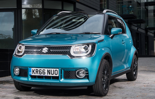 SMALL WONDER: The new Suzuki Ignis does not feel cramped