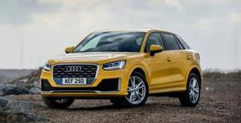 YELLOW FEVER: The well-designed Audi Q2 stands out from the crowd — but it's expensive