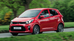 No worries: The new Kia Picanto tries very hard