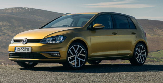 Top class: The Golf Mk 7.5 is even more polished than its predecessor