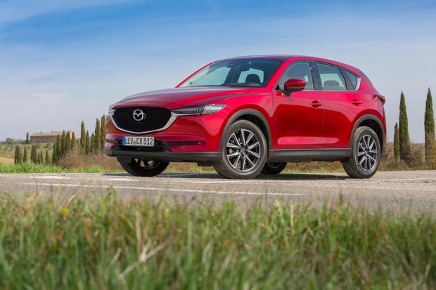 Convivial: the Mazda CX-5