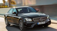 Energetic driving: Mercedes AMG E43 4MATIC