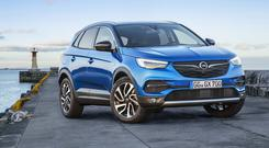 Growing family: Third Opel X model after Mokka X and Crossland X