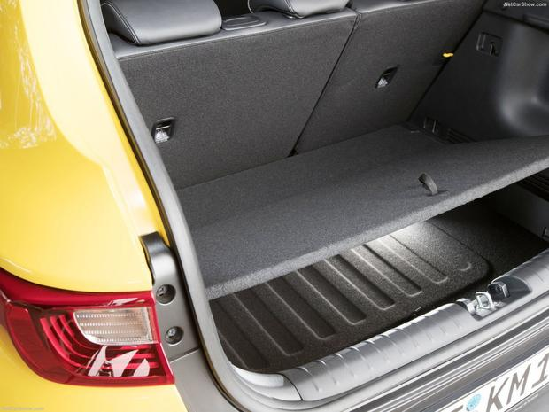 Extra storage in the boot