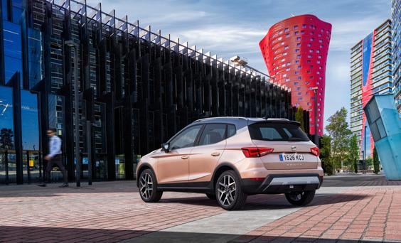 Competitive: The Seat Arona enters the fastest-growing market in Ireland