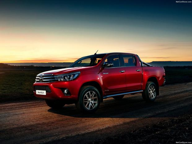 Champion: Toyota Hilux, the world's favourite car