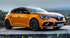 MUSCULAR: The RS makes no attempt to hide its motorsport pedigreefamiliar