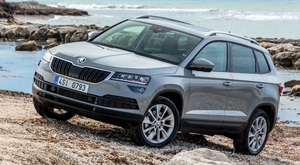 The bland-looking Skoda Karoq