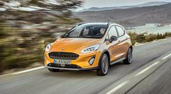 NEWCOMER: The Fiesta Active joins the crossover craze