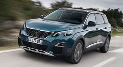 TRUST: Campbell Spray would be happy to see his grandchildren in the Peugeot 5008